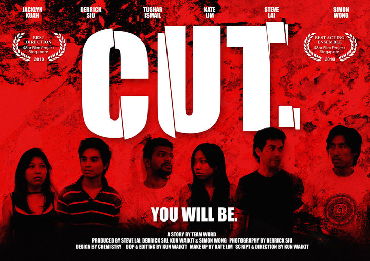 Our Short Film - 'Cut' Won Best Acting (Ensemble), Best Directing & Got Runners Up @ the 48 Hour Film Project 2010